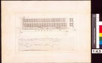 Image from object titled Patent des Juan Amann in Bilbao auf einen Apparat zur Bewirkung des automatischen Spielens auf Pianinos, Patentzeichnung