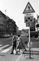 Image from object titled Freiburg i. Br.: Blindenübergang in der Habsburgerstraße