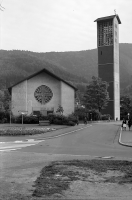 Image from object titled Freiburg i. Br.: Kirche St. Barbara in Littenweiler: Außenansicht von Norden