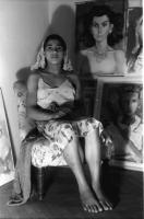 Image from object titled Bukarest: Magdalena Radulescu, Modell, Zigeunermädchen