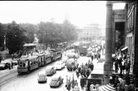 Image from object titled Stuttgart: Schlossplatz vom Hotel Marquardt