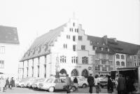 Image from object titled Freiburg: Das Neue Kornhaus, Außenansicht vom Münsterplatz