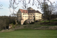 Image from object titled Eigeltingen: Schloss Langenstein, Parkseite