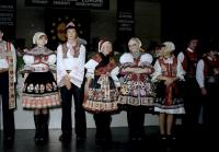 Image from object titled Freiburg: Stadthalle; Europatage Paneuropa-Union, ungarische und tschechische Volksgruppe in Trachten