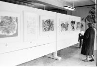 Image from object titled Freiburg: Ausstellung des Amerikahauses in der Universität