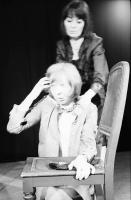 "Image from object titled Freiburg: Theater am Wallgraben; Jean Paul Sartre ""Geschlossene Gesellschaft"" (Huis Clos), [Christhild Junker, Ellinor von Landesen]"