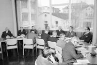 Image from object titled Freiburg: Regierungspräsidium, Hochhaus; Deutsch-schweizerische Kommission, zur Bereinigung von Grenzfragen