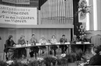 Image from object titled Freiburg: Pädagogische Hochschule; Podiumsgespräch, Auditorium
