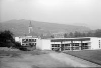Image from object titled Oberrotweil: Schulhausneubau, von oben