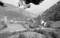 Image from object titled Niederwasser: Gutachtal mit Blick auf Niederwasser
