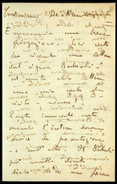 Lettera di Carena a De Carolis