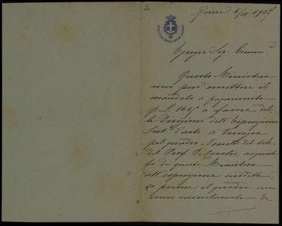 Lettera di Levi a De Carolis