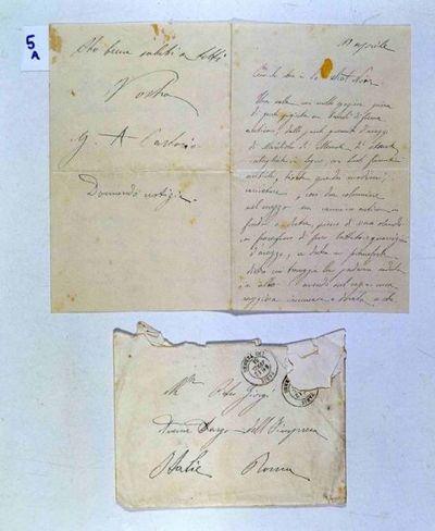 Lettera di Sartorio a Giorgi