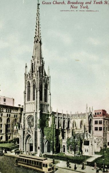 Image from object titled Grace Church, New York