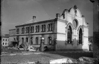Image from object titled Sunaikinta sinagoga Varpo gatvėje, Šiauliuose