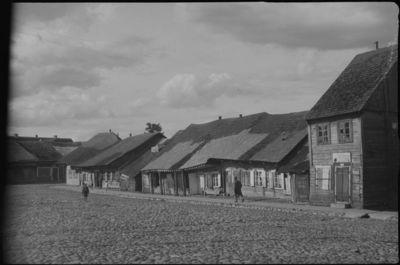 Kražių miestelio vaizdas