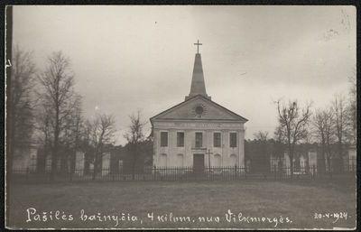 Image from object titled Pašilės Šv. Barboros bažnyčia