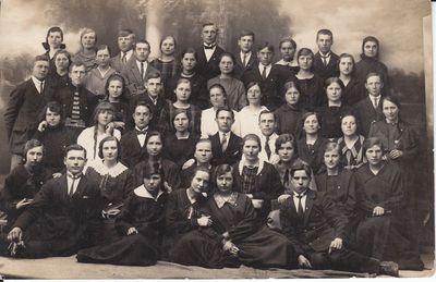 Image from object titled Marijampolės bažnyčios choras 1924 m.