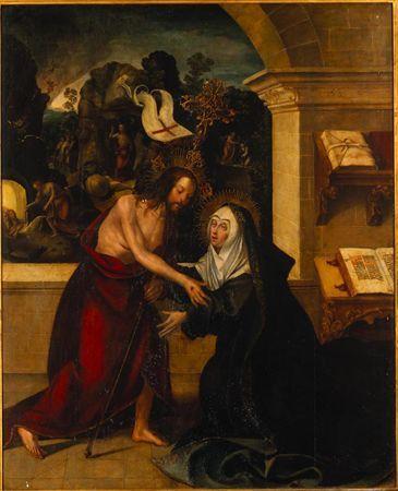 Aparição de Cristo à Virgem / Tríptico da Aparição de Cristo à Virgem