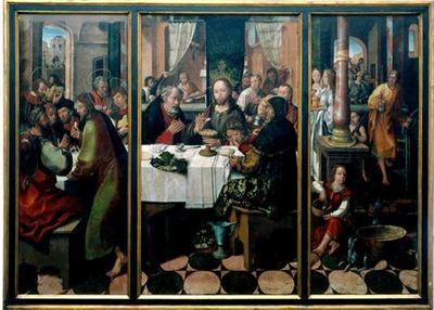 Última Ceia ou Instituição da Sagrada Eucaristia