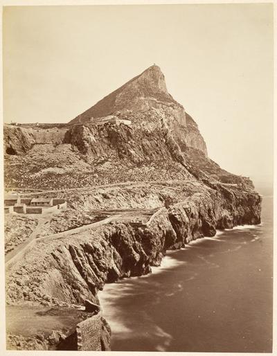 [Vista del Peñón de Gibraltar]