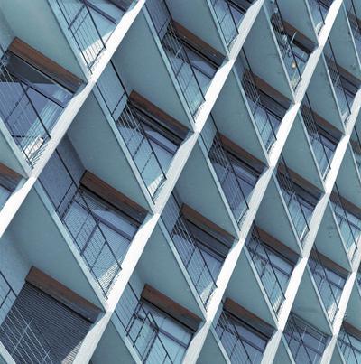 Edificio de Barcelona. Fachada [Balcones]