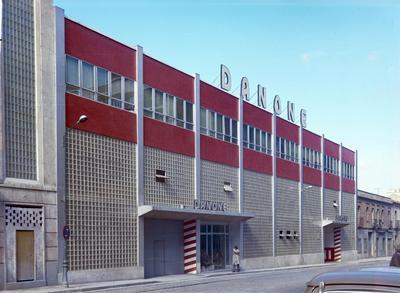 Image from object titled Exterior de la fábrica Danone [Fachada principal]