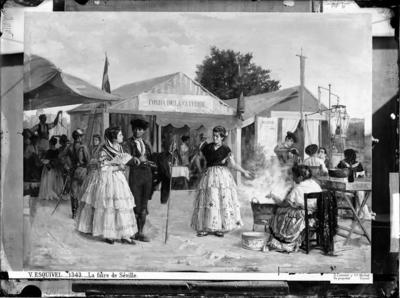 Image from object titled La Feria de Sevilla