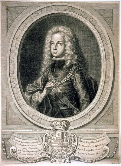 Felipe V, Rey de España