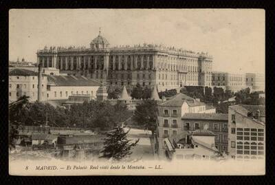 Palacio Real visto desde la montaña