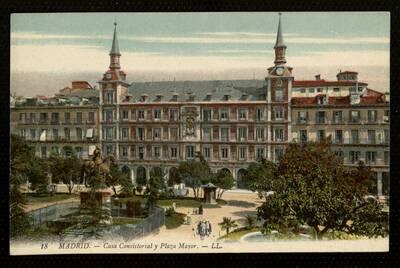 Casa Consistorial y Plaza Mayor