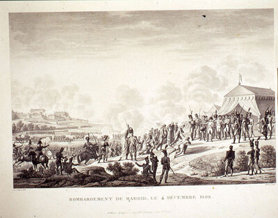 Bombardeo de Madrid, 4 de Diciembre de 1808