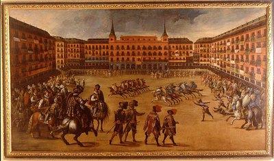 Fiesta en la Plaza Mayor