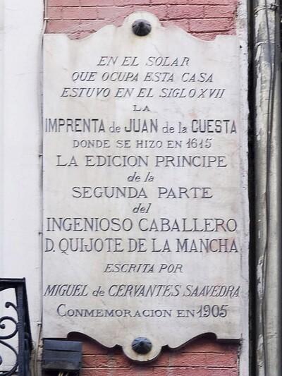 Imprenta Juan de la Cuesta