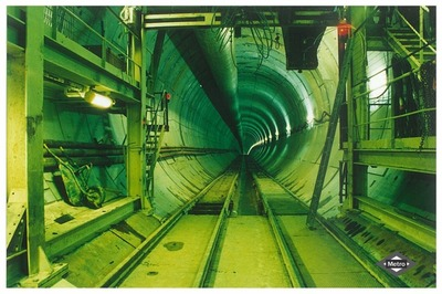 "Image from object titled Tuneladora ""La Chata"""