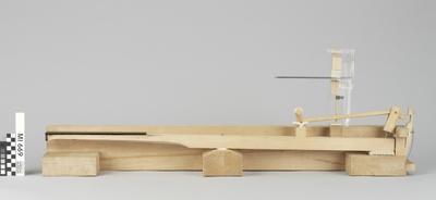 Modell einer Hammerflügelmechanik nach Johann Andreas Stein