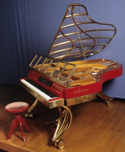 Image from object titled Konzertflügel, Modell Seiler Showmaster 180