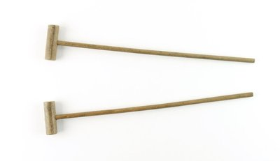 Image from object titled Beaters: glockenspiel; pair.