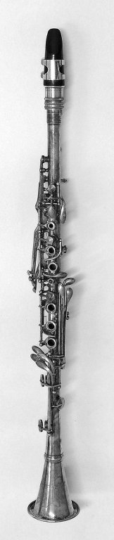 Image from object titled Clarinet. Nominal pitch: B?.