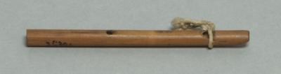 Bambuslängsflöte; Blockflöte