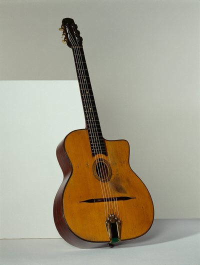 "Image from object titled Guitare ""Django Reinhardt"""