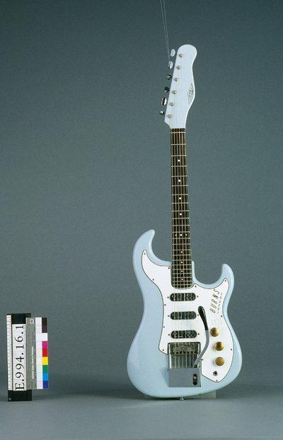 Guitare électrique modèle Jazz Guitar Split Sound