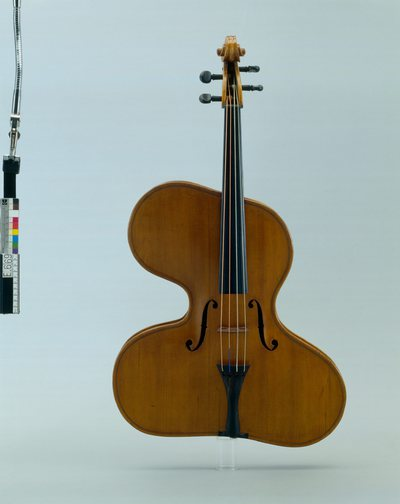 """Image from object titled Violon irrégulier """"violino harpa forma magna"""""""