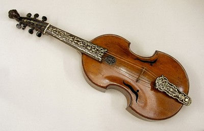 Image from object titled Viola d'Amore or Treble Viol.