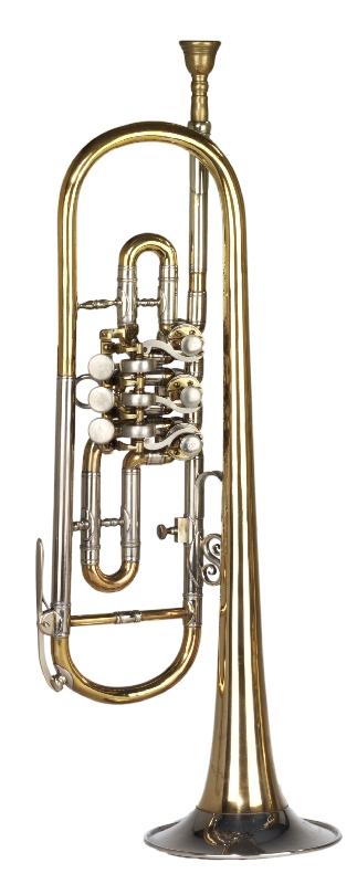 Ventiltrompete in B; Heckel-Trompete