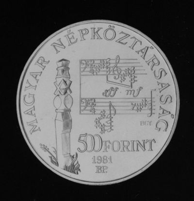 Bartók Béla-emlékpénz