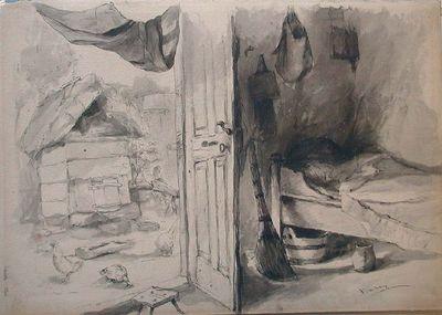 Paraszt szobabelső