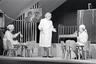 foto, negatiiv, Gunnar Vaidla, Vöödiline Hobune, Draamateater, 1968, Ingo Normet; Ellen Liiger, Vaike Valler; Linda Tubin, tema ema; Salme Reek, Tädi Betty