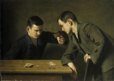 Kaardimängijad (Teenistus; Palk)