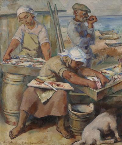 Kalapuhastamine (Hüidma talu Sõrves)